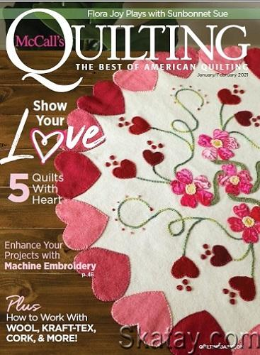 McCall's Quilting - January/February 2021