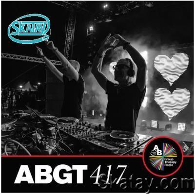 Above & Beyond, Cristoph - Group Therapy ABGT 417 (2021-01-22)