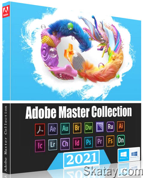 Adobe Master Collection 2021 v.3.0 by m0nkrus