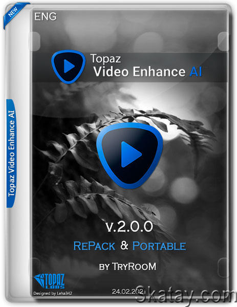 Topaz Video Enhance AI 2.0.0 RePack & Portable by TryRooM (ENG/2021)