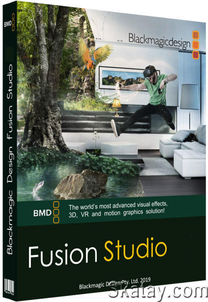Blackmagic Design Fusion Studio 17.0 Build 43