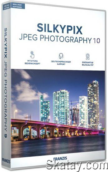 SILKYPIX JPEG Photography 10.2.12.0 (x64) Rus /Portable/