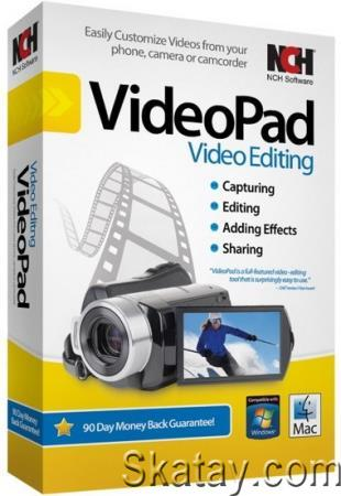 NCH VideoPad Video Editor Professional 10.34 /Portable/