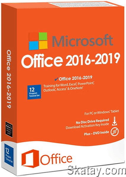 Microsoft Office 2016-2019 16.0.13929.20254 Build 2104 (AIO) by m0nkrus