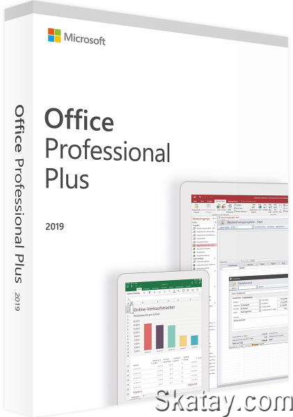 Microsoft Office 2016-2019 Professional Plus / Standard + Visio + Project 16.0.13929.20296 (2021.04) RePack by KpoJIuK