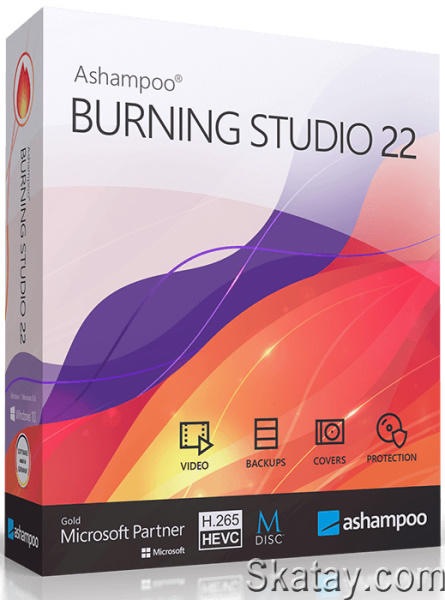 Ashampoo Burning Studio 22.0.7.33 RePack & Portable by TryRooM